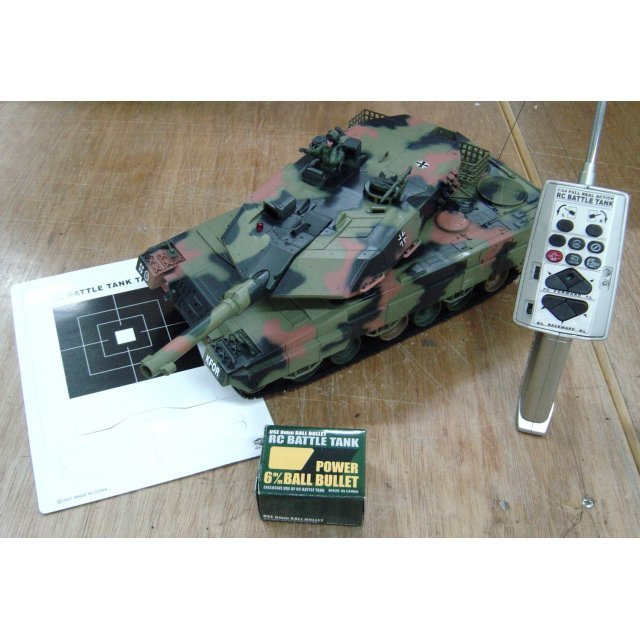 RC Battle Tank 'Leopard II A5' Scale 1/24 [110V]