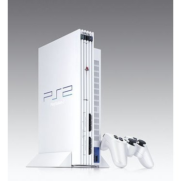 PlayStation2 Console Pearl White