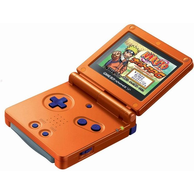 Game Boy Advance SP - Naruto Orange (110V)