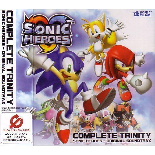 Complete Trinity: Sonic Heroes - Original Soundtrax