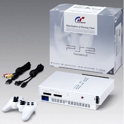 PlayStation2 Console Ceramic White (SCPH-55005GT/N)