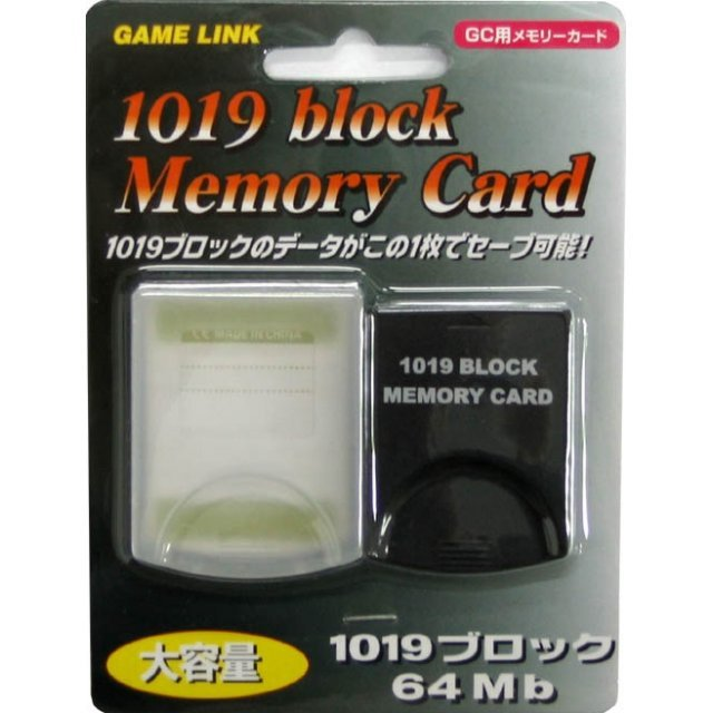 1019 Block Memory Card [black]