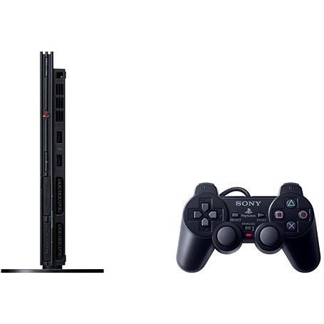 PlayStation2 Console Charcoal Black (SCPH-75000CB)