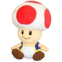 Mario Party Plush Doll: Toad