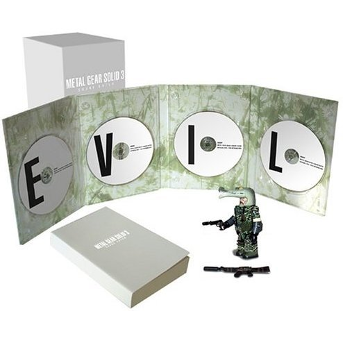 Metal Gear Solid 3: Snake Eater - Official DVD: The Extreme Box