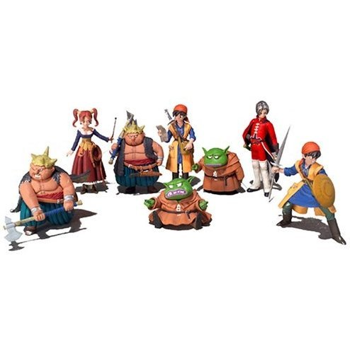 Dragon Quest VIII Characters Gallery