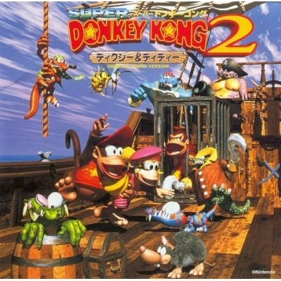 Super Donkey Kong 2 -Dixie & Diddy- Original Sound Version