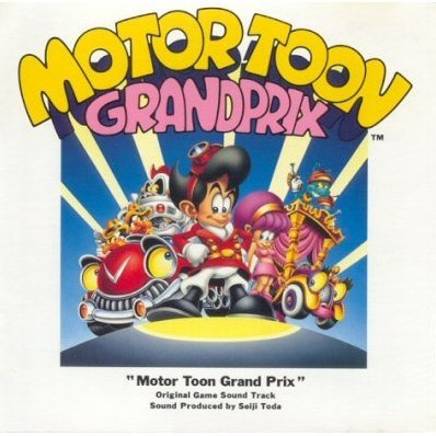Motor Toon Grand Prix Original Game Sound Track