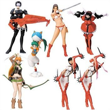 Sega Gals Collection Gashapon Vol. 02