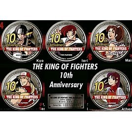 The King of Fighters 10th Anniversary Pins Set