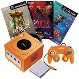 Game Cube Console - Spice Orange Special Pack