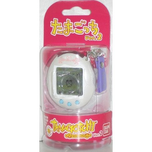 Tamagotchi Connexion Version 2 (Shiny White)