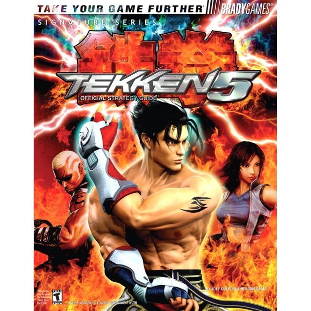 BradyGames Tekken 5 Official Strategy Guide