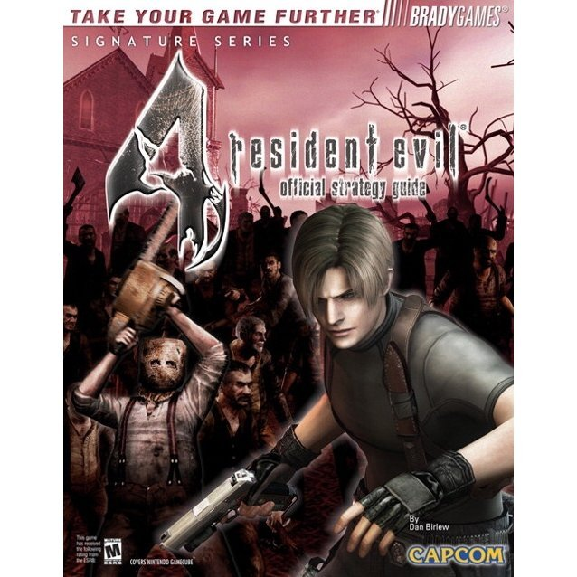BradyGames Resident Evil 4 Official Strategy Guide