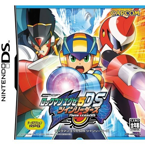 Rockman EXE 5 DS Twin Leads