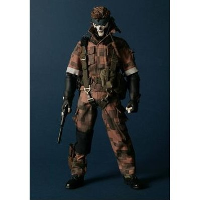Real Action Heroes - Metal Gear Solid 3: Snake Eater (Snake Squares Camouflage Ver.) (Re-run)