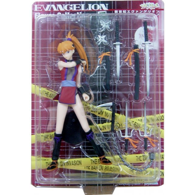 Neon Genesis Evangelion Figure Collection: Special Work Instruction #2 - Asuka Langley
