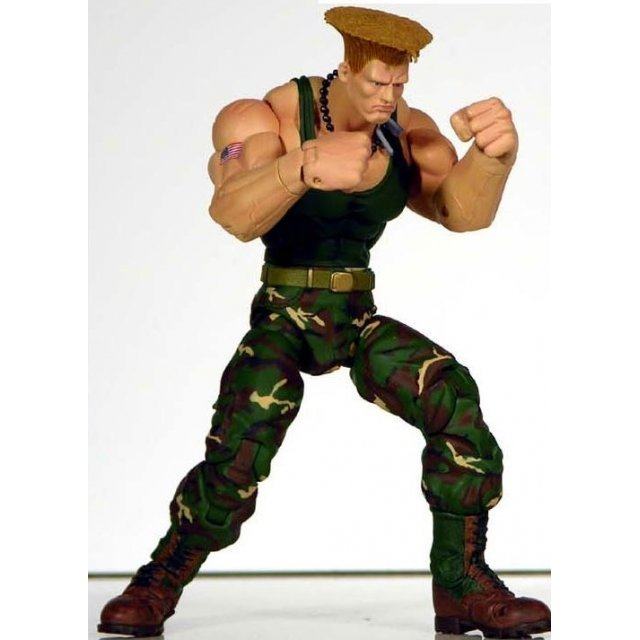 Street Fighter Action Figure: Guile