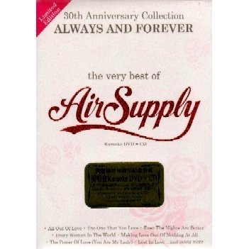 30th Anniversary Collection Always And Forever - The Very Best Of Air Supply (Karaoke DVD+CD)
