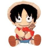 From TV Animation ONE PIECE Plush Doll Mini Map Style - Model A: Luffy