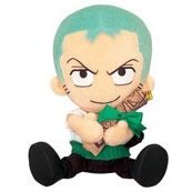 From TV Animation ONE PIECE Plush Doll Mini Map Style - Model E: Zoro