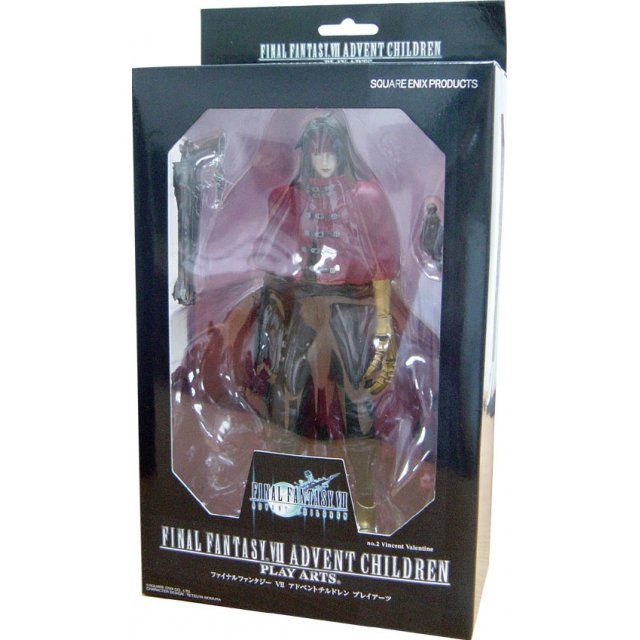 Final Fantasy VII Advent Children Action Figure No.2 Vincent Valentine