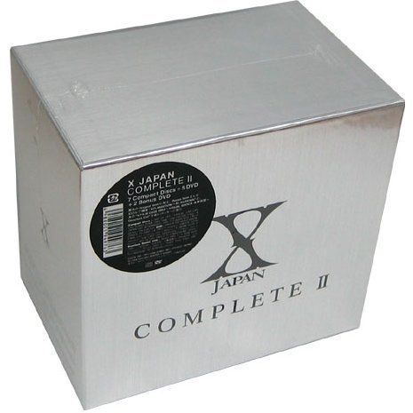 X Japan Complete II [7CD+5DVD]