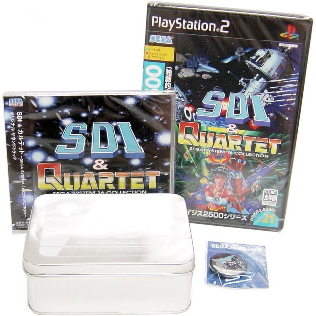 Sega AGES 2500 Series Vol. 21 SDI & Quartett ~SEGA System 16 Collection Vol.1~ [Super DX Pack]