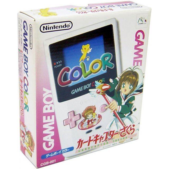Game boy color japan - Game Boy Color Console Cardcaptor Sakura Special Edition