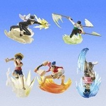 From TV animation ONE PIECE Dress Battle 2 Collection Gashapon