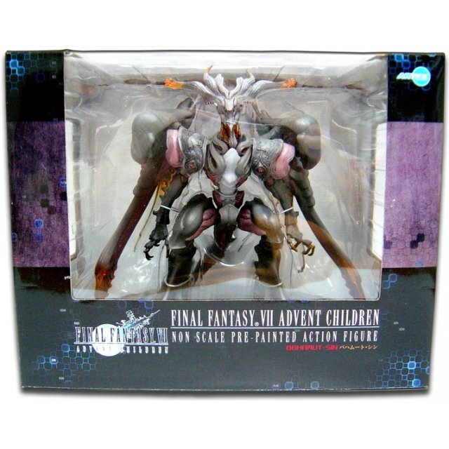 Final Fantasy VII Advent Children: Bahamut-Sin - Non Scale Pre-Painted Action Figure