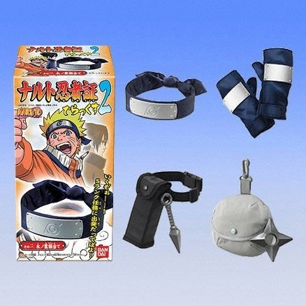 Naruto Ninja Accessories Candy Toy Deluxe Vol.2