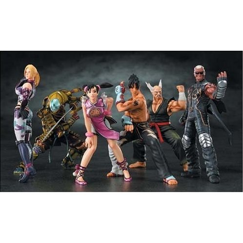 Game Character Collection Tekken 5 Round 1