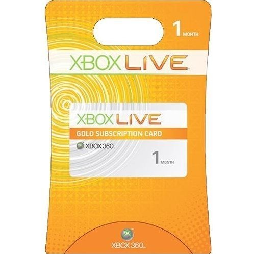 Xbox Live 1 Month Subscription