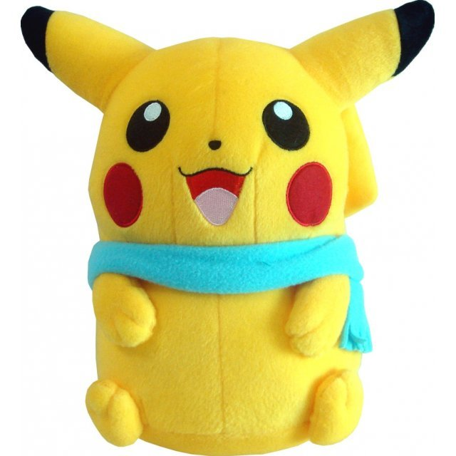Pocket Monsters Advance Generations Super DX Vol. 2 Plush Doll: Type A - Pikachu