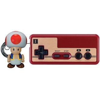 Nintendo Family Computer Controller 2 - Walking Figure: Toad