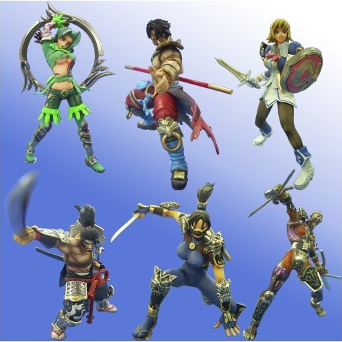 Game Character Collection Soul Calibur III Round 1