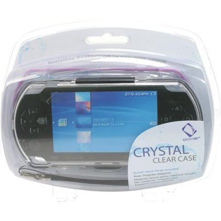 Crystal Case (Black/Purple)