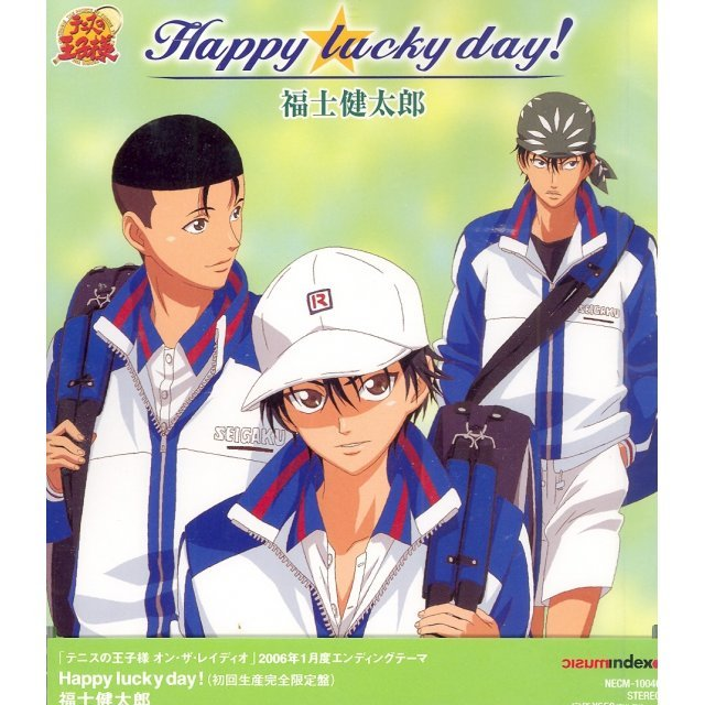 Happy Lucky Day! (Bunka Hoso Prince of Tennis On the Radio January 2006 Outro Theme) [Limited Edition]