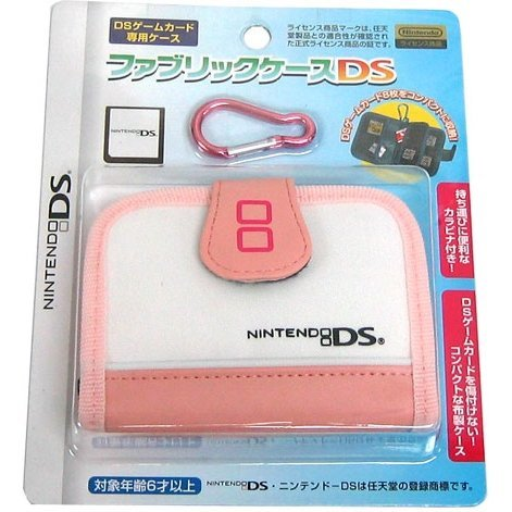 Fabric Case DS (Peach White)