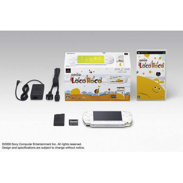 PSP PlayStation Portable LocoRoco Pack (ceramic white)