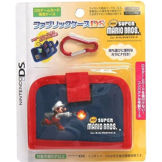 Fabric Case DS New Super Mario Bros. Version (red line)