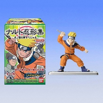Naruto Collection Candy Toy - Konohana Special