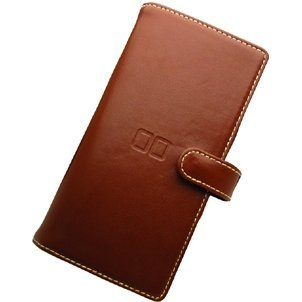 Card Case DS Leather Type (dark brown)