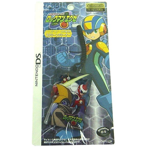 RockMan EXE / Mega Man Battle Network Screen Cleaning Strap - Forte & Blues & Kernel