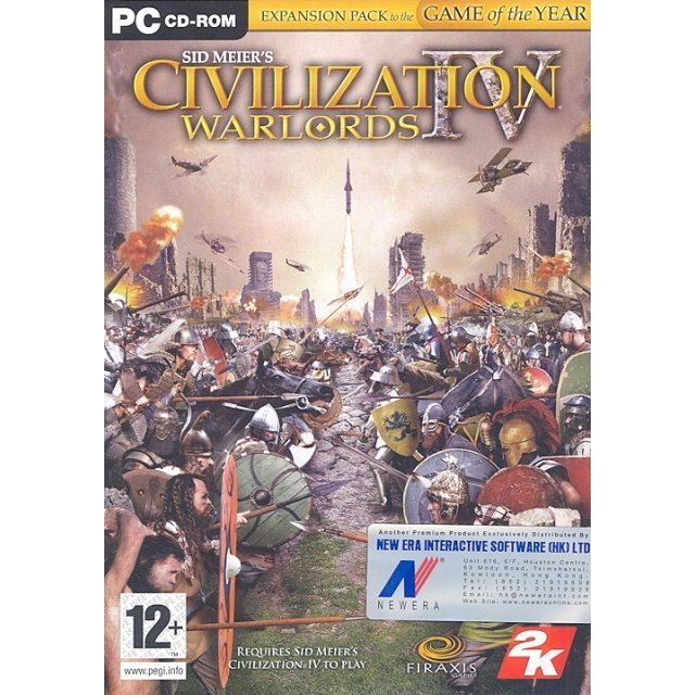 Sid Meier's Civilization IV: Warlords (DVD-ROM)