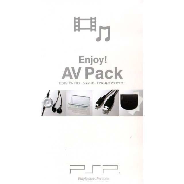 PSP Enjoy! AV Pack