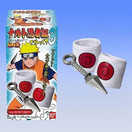 Naruto Ninja Headband Candy Toy Vol.3