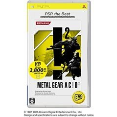Metal Gear Acid 2 (PSP the Best)