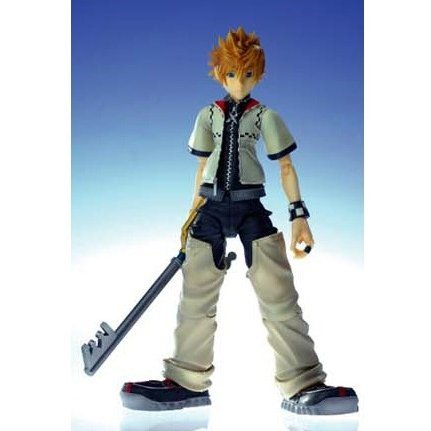 Kingdom Hearts II Play Arts Action Figure - No.2 Roxas (Re-run)